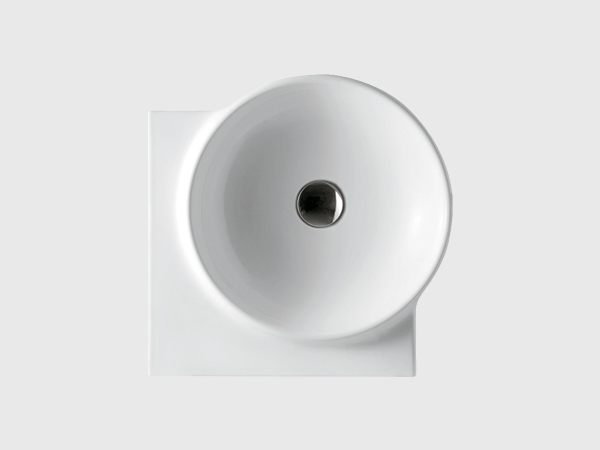 "18"" corner wall hung wash basin"