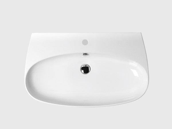 "31"" wash basin with single faucet hole"