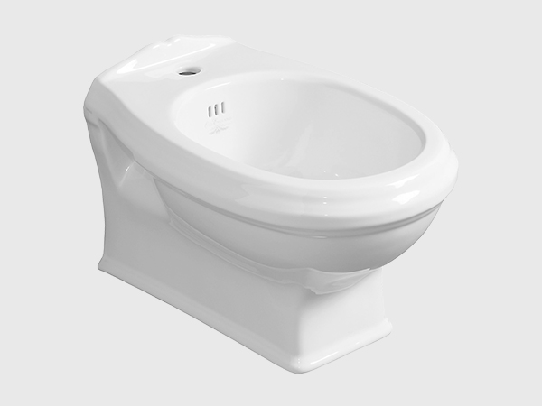 ARCADIA Wall Hung Bidet with Single Faucet Hole