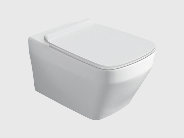 BADEN BADEN Rimless Wall Hung Toilet with Seat