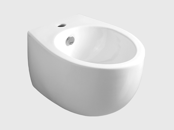 BORMIO Wall Hung Bidet with Single Faucet Hole